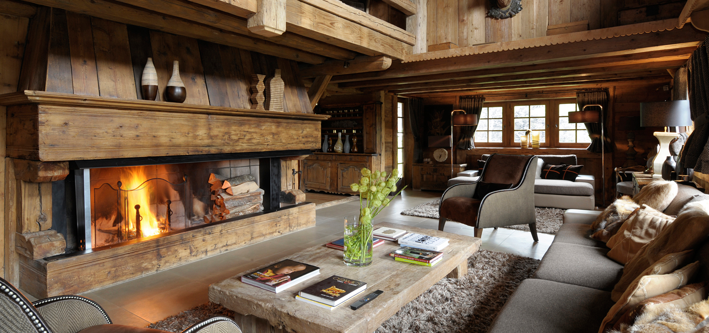 decoration interieur de chalet en bois. Black Bedroom Furniture Sets. Home Design Ideas